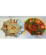 Vintage Christmas Paper Mache Bowls Collectible Decor - $22.99