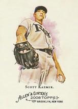 2008 Topps Allen and Ginter #146 Scott Kazmir - $0.50
