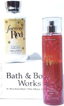 Bath & Body Works Forever Red Body Lotion & Body Mist Gift Set of 2 - $23.27