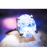 Haunted RING FREEBIE FORETELL FUTURE DIVINATION MAGICK 925 crystal Cassia4  - $0.00