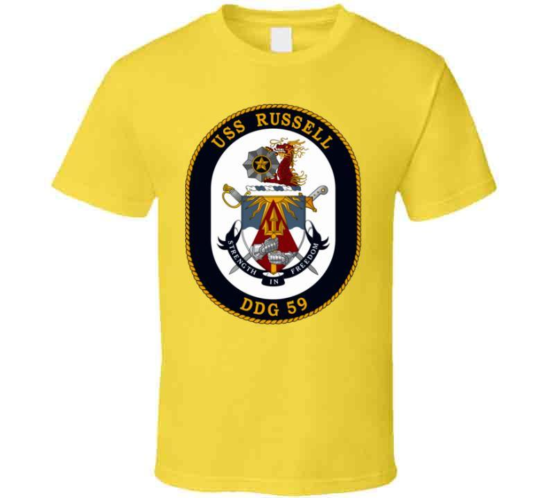 Ddg-59 Uss Russell T Shirt