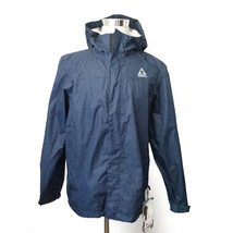 Gerry Packable Windbreaker Men Size M Navy Blue Water Resistant Storm Re... - $116.40