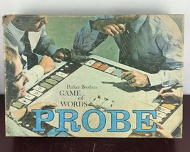 Parker Brothers Probe Game Of Words 1964 Board Game( Incomplete) - $14.03