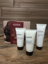 AHAVA Naturally Replenished Trio Gift Set Mud Mask, Moisturizer & Replen... - $17.29