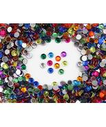 Assorted Acrylic Rhinestones Lead Free. Pro Grade (4mm SS16-400 Pcs) - $2.60