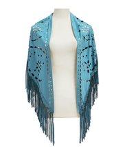 Modadorn Knitting Pattern Triangle Fashion Shawl (Suede Mint) - $14.84