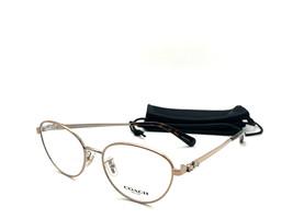 NEW! Authentic COACH HC5088 9309 Rose Gold Eyeglasses Frames 51/16/135 - $58.16