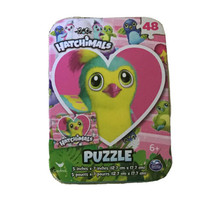 Hatchimals Bird in Heart, Puzzle in a Collector Tin,  48 Pieces, New, Se... - $5.69