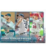 Baseball Card- 2014 American League Wins Leaders - $1.25