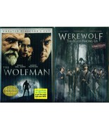 UNIVERSAL'S WOLFMAN 1+2 Unrated: Werewolf The Beast Among Us-Hopkins-NEW... - $19.79