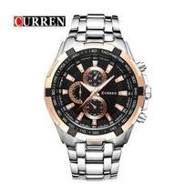 CURREN Sports Watches Men,Waterproof Stainless Steel Analog Quartz Watches - $45.00