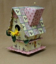 Vintage Collectible Cushions Crafting Sewing Pin Cushion Bird House - $15.00