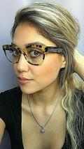 New Miu Miu VMU06O 7S0-101 54mm Tortoise Cats Eye Women's Eyeglasses Frame - $229.99