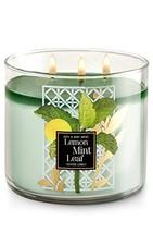 Bath & Body Works 3-Wick Candle in Lemon Mint Leaf - $34.23