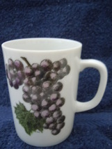 Vintage Creative Fine China Grapes Mug No.1 - $3.99