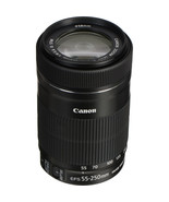 CANON EF-S 55-250mm F4-5.6 IS STM Black (Color Box) - $258.50