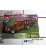 AMT Vampire Van with Coffin trailer 1/25 scale - $38.99