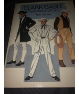 Clark Gable Paper Dolls in Full Color by Tom Tierney (1986, Paperback) - $15.83