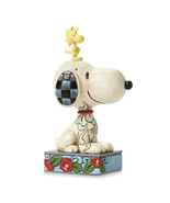 Non Metal Peanuts Jim Shore Snoopy And Woodstock Figurine (Length=3) (Wi... - $31.92