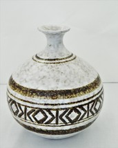 Pottery Craft USA – Handmade Stoneware Decorative Bottle - Unique Design... - $22.50