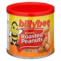 Billy Bee Honey Roasted Peanuts 6 x 300g Canadian - $69.99