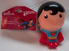 SUPERMAN Dc Comics Justice League HALLMARK CHRISTMAS TREE HOLIDAY ORNAME... - $14.85