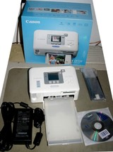 "Canon SELPHY CP720 4"" x 6"" Digital Photo Thermal Printer USB PictBridge VGUC - $30.35"