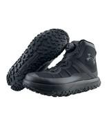 Under Armour Fat Tire GTX Mens 9 Triple Black Hiking Boots Gore Tex Mich... - $197.95