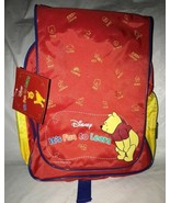 "Disney Winnie The Pooh ""It's Fun to Learn""  Backpack Children's Backpack... - $13.85"