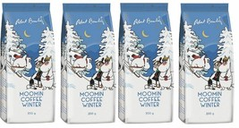 Robert Paulig Moomin Coffee Winter 200g Ground x 4 packs - $37.62