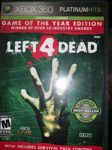 Left 4 Dead -- Game of the Year Edition (Microsoft Xbox 360, 2009)