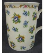 Roy Kirkham Petite Rose Fine Bone China Coffee Cup Mug England 8oz - $19.95