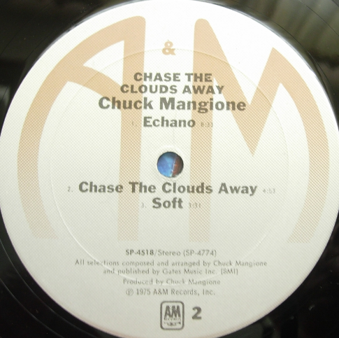 Chuck Mangione - Chase The Clouds Away - A&M Records SP-4518 LP