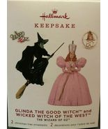 Hallmark 2019 Glinda The Good Witch & Wicked Witch Of The West The Wizar... - $39.99