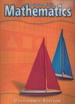 Mathematics - Houghton Mifflin - California Edition - SC 2002 Dr. Carole... - $7.19