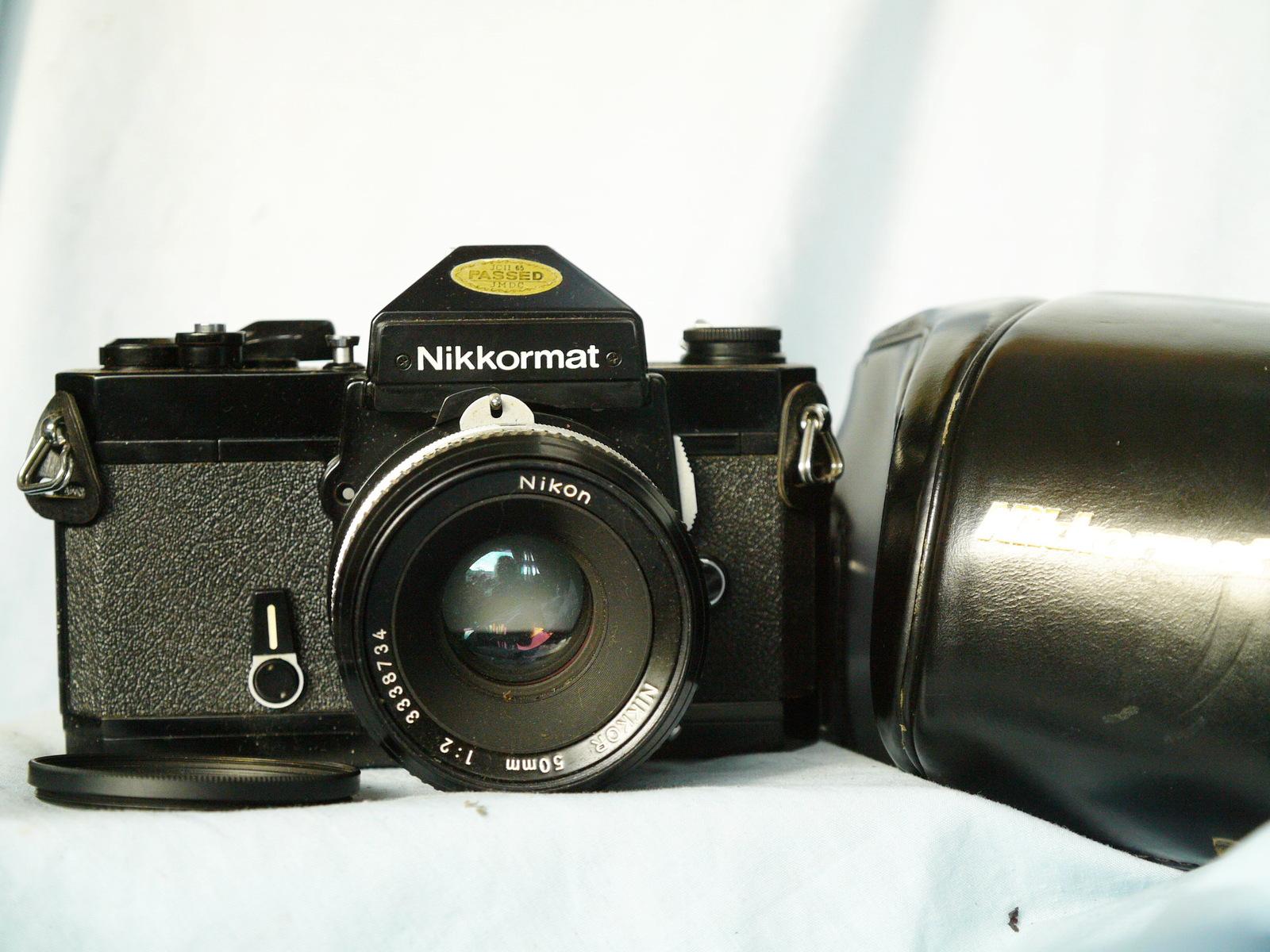 Nikon Nikkormat FT2 Mechanical SLR Camera c/w Nikkor 50mm Lens Cased  - Nice Set - $100.00