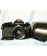 Nikon Nikkormat FT2 Mechanical SLR Camera c/w Nikkor 50mm Lens Cased  - ... - $100.00