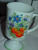 Flowering Fruit Saltera Footed Coffee Cup - $12.00