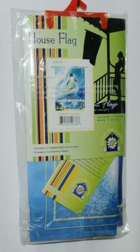 Premier Designs 52838 Surfing Safari Polyester Accent Home Garden Flag