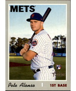 Pete Alonso 2019 Topps Heritage High Rookie Card #519 - $8.00