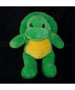 BUILD A BEAR GREEN & YELLOW TURTLE W/ SHELL STUFFED ANIMAL PLUSH TOY BABW - $17.77