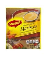 Maggi Sopa Crema de Mariscos -Creamy Seafood Soup Mix- 2.82oz Packet Exp... - $7.87