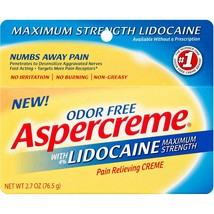 Aspercreme Pain Relieving Crème with Lidocaine 2.7oz - $16.51
