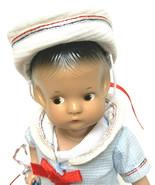 Vintage Effanbee Doll July Girl 1988 Patsyette 9605 New York - $53.46