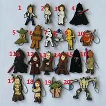 Star Wars Rubber Strap KeyChain Key Ring Ichiban Kuji World Collectible ... - $6.91+