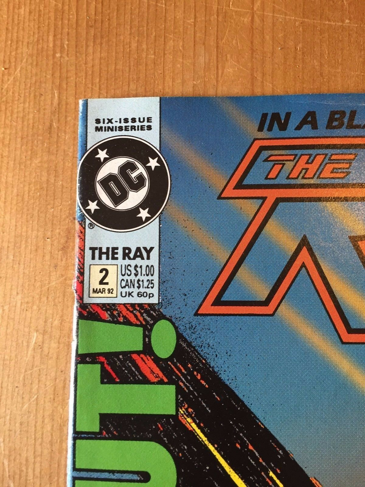 The Ray #2 (Mar 1992) Vfn - Dc Comics - Seis Issue Abecedario