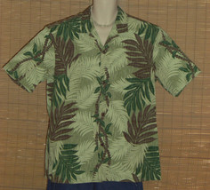 Royal Creations Hawaiian Shirt Green XL NWOT - $23.99