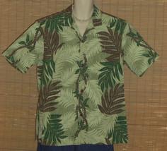 Royal Creations Hawaiian Shirt Green XL NWOT - $23.99