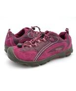 Keen Girls 3 Parker Trail Hiking Shoes Purple Maroon Lace Up Sneaker EUR 35 - $28.99