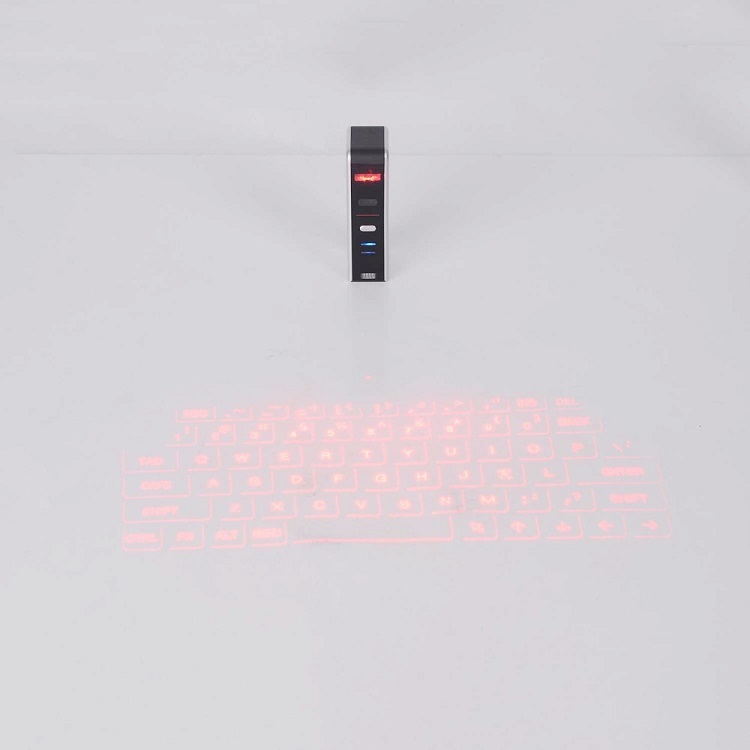 Bluetooth laser projection virtual phone keyboard mouse